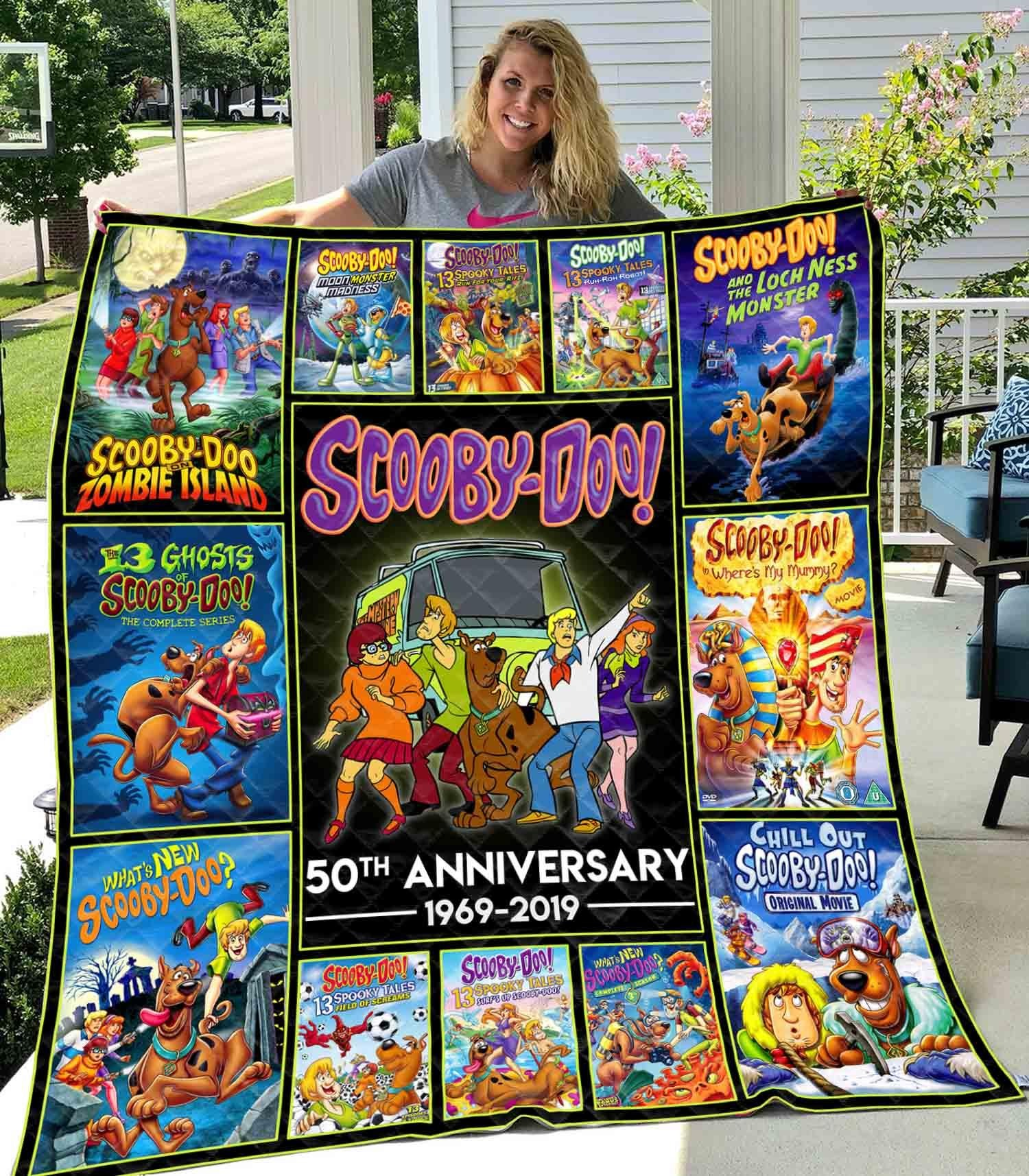 Scooby doo 50th anniversary quilt