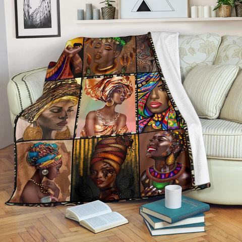 African Culture Blanket