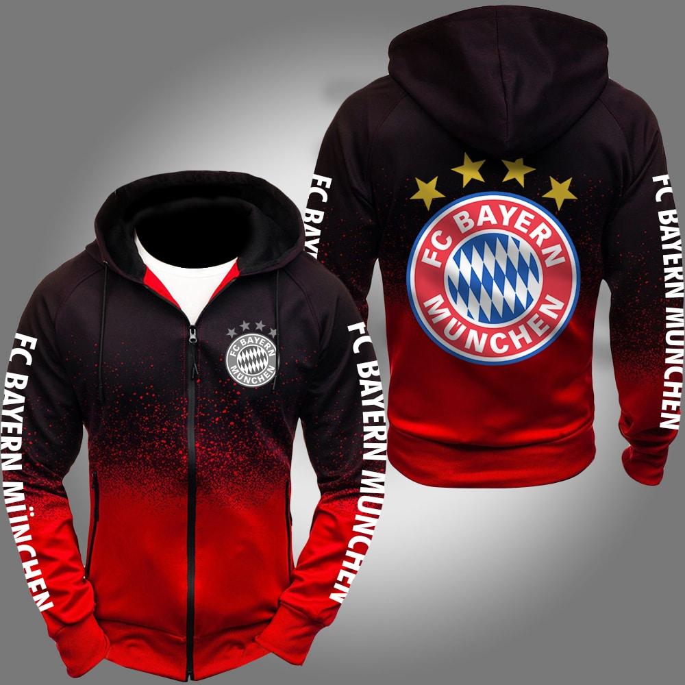 bayern munich fc bayern münchen gradient hoodie