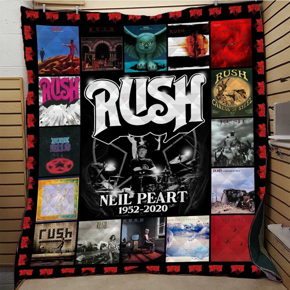 Rush Neil Peart 1952 2020 Quilt