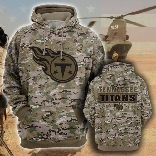 Tennessee titans camo full printing shirt - maria