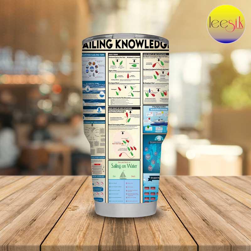 Sailing knowledge tumbler