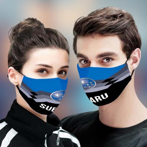 Subaru 3D Face Mask - BBS