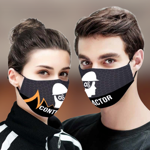 Contractor 3D Face Mask
