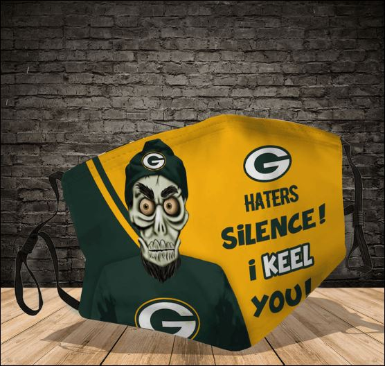 Achmed Green Bay Packers haters silence i keel you face mask