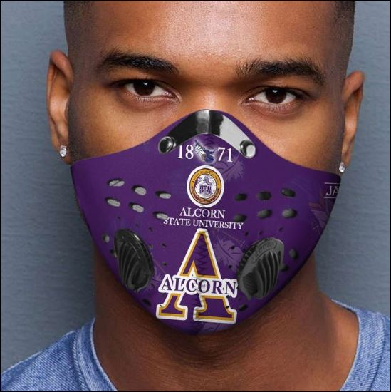 Alcorn State University filter activated carbon face mask