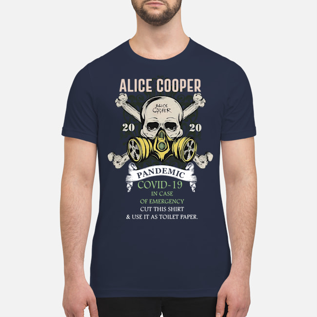 Alice Cooper pandemic covid-19 in case of emergency classic shirt