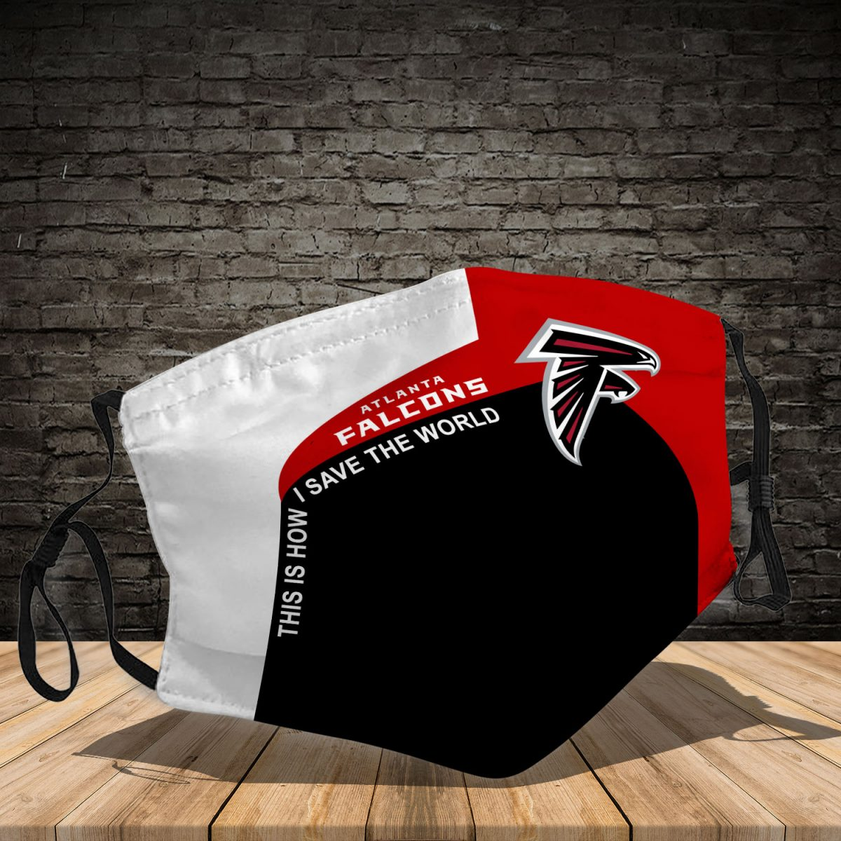 Atlanta Falcons 3d face mask