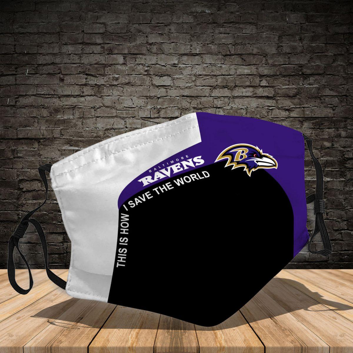 Baltimore Ravens 3d face mask