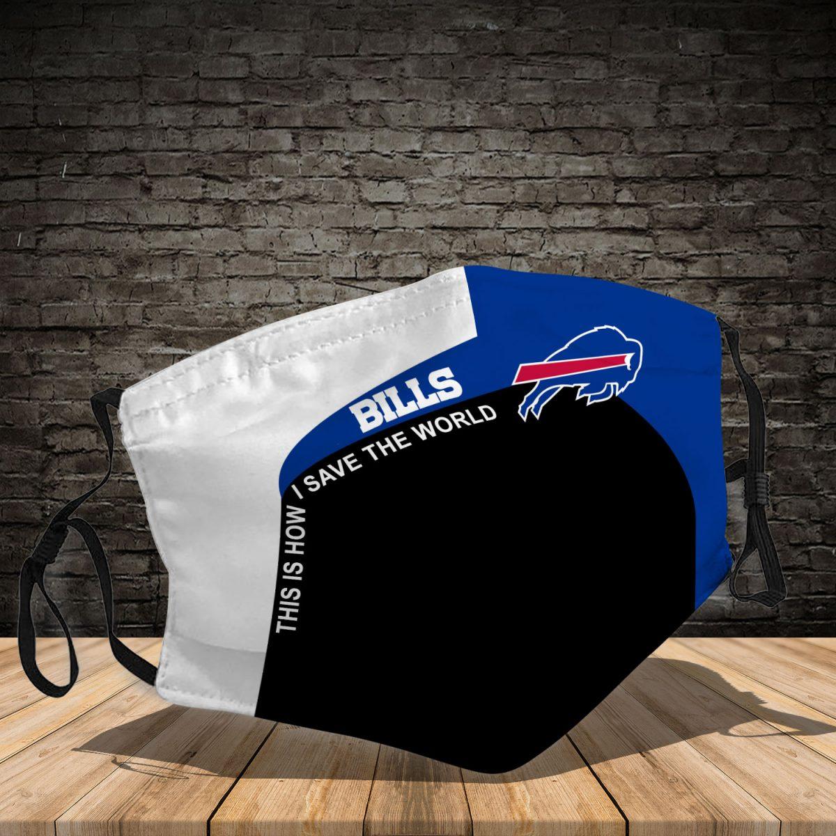 Buffalo Bills 3d face mask