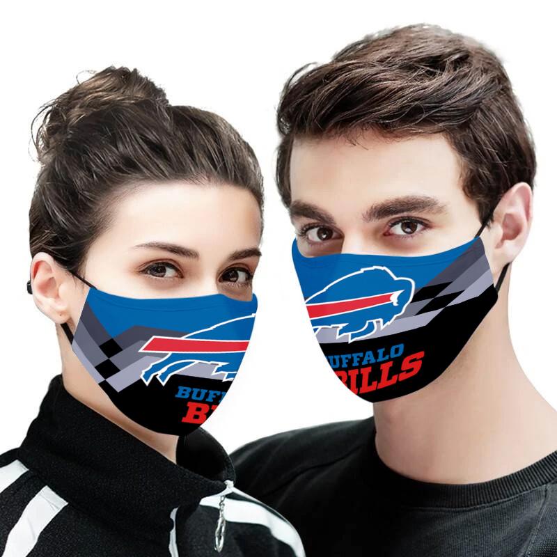 Buffalo bills face mask