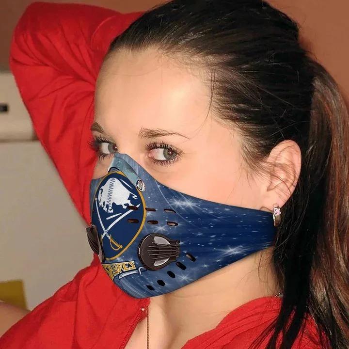 Buffalo sabres filter face mask - Pic 1