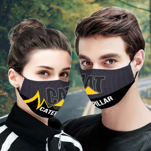Caterpillar 3d face mask - LIMITED EDITION