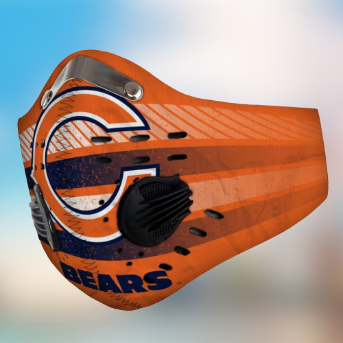 Chicago Bears filter face mask - LIMITED EDITION