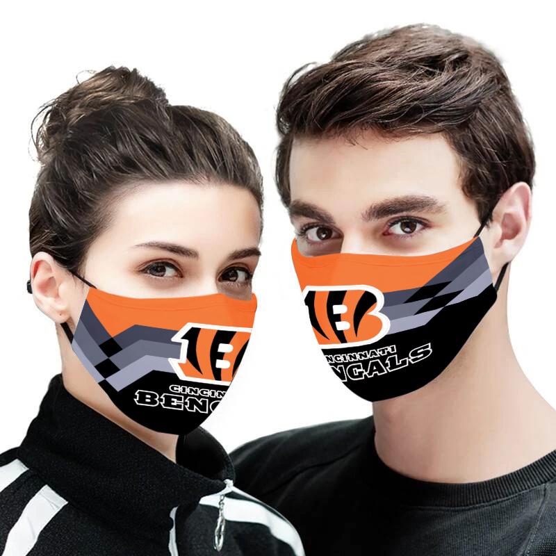 Cincinnati bengals face mask