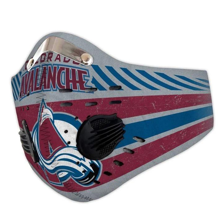 Colorado avalanche filter face mask