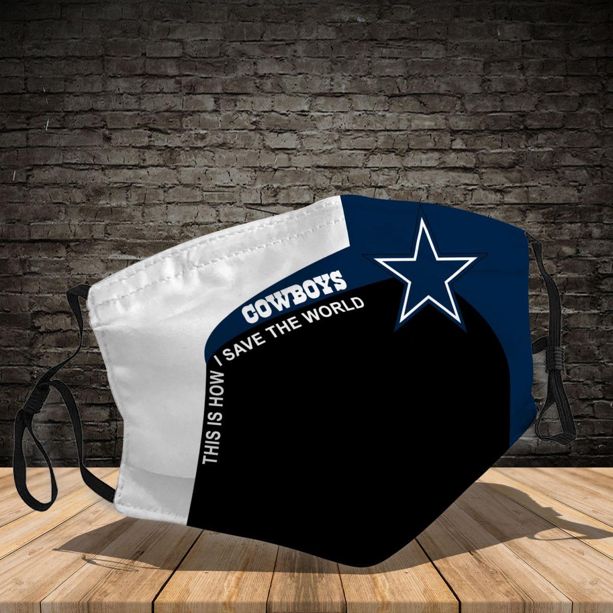 Dallas Cowboys 3d face mask