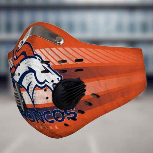 Denver Broncos filter face mask - LIMITED EDITION
