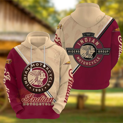 Indian motorcycle 1901 3d hoodie - LIMITED EDITION