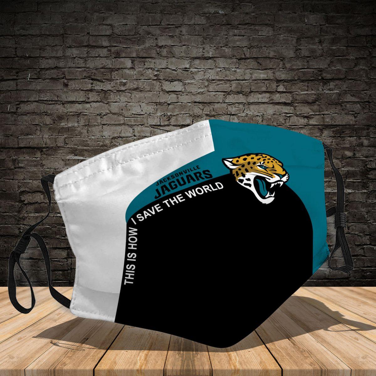 Jacksonville Jaguars 3d face mask