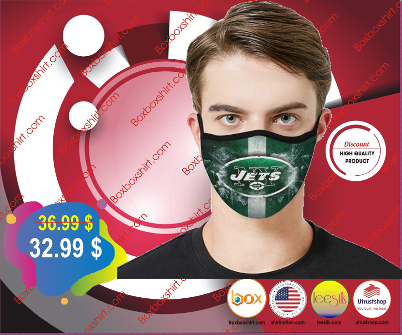 New York Jets cloth fabric face mask - LIMITED EDITION