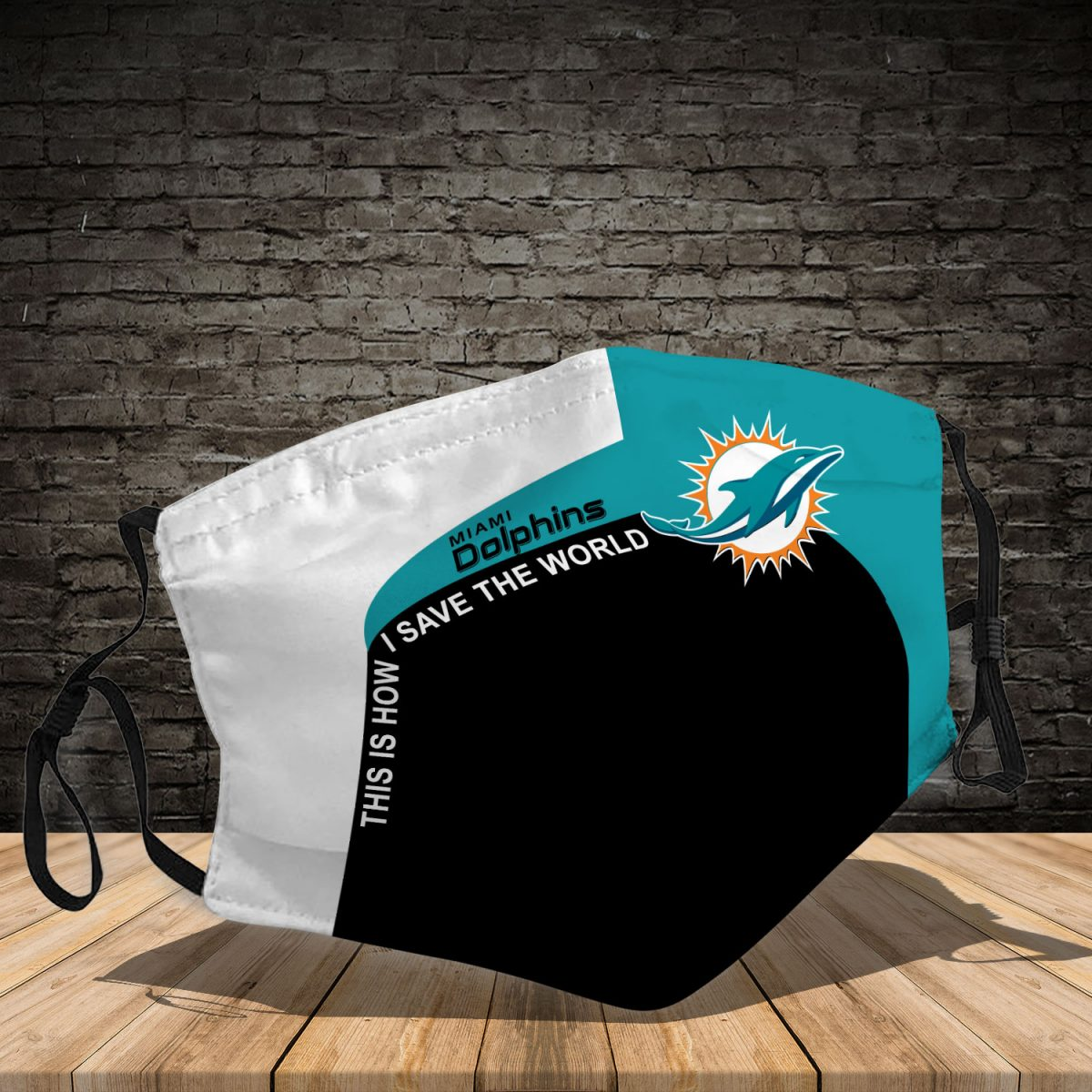 Miami Dolphins 3d face mask