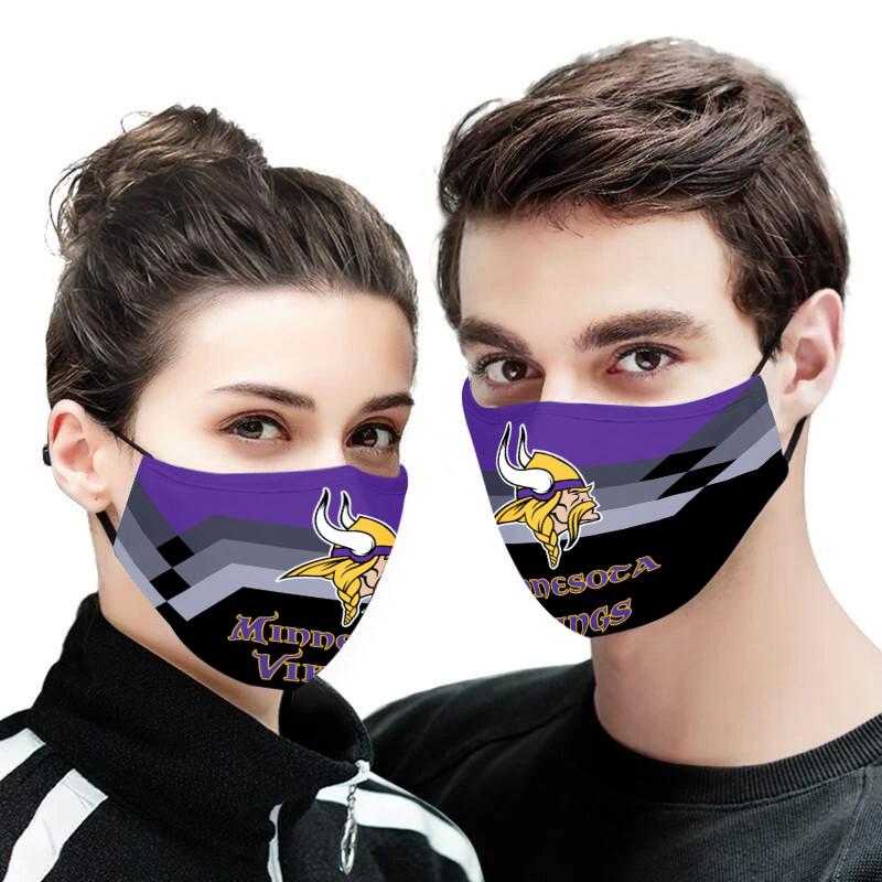 Minnesota vikings face mask