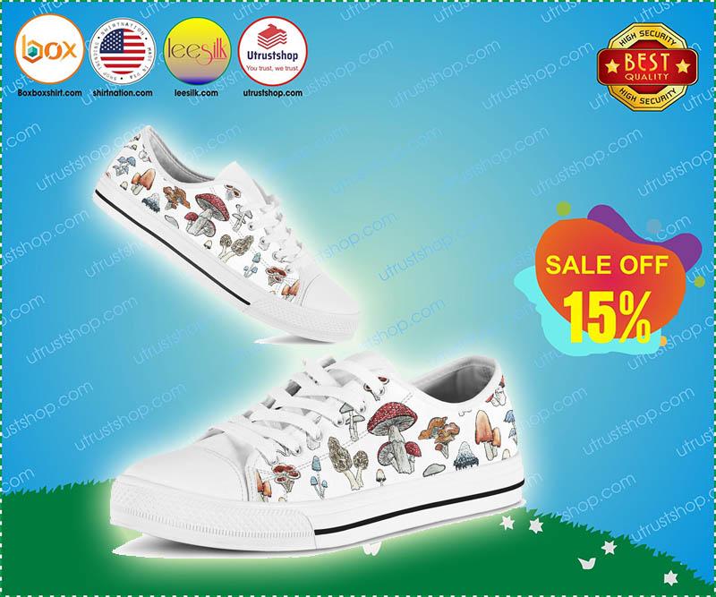 Mushroom low top shoes - LIMTIED EDITION