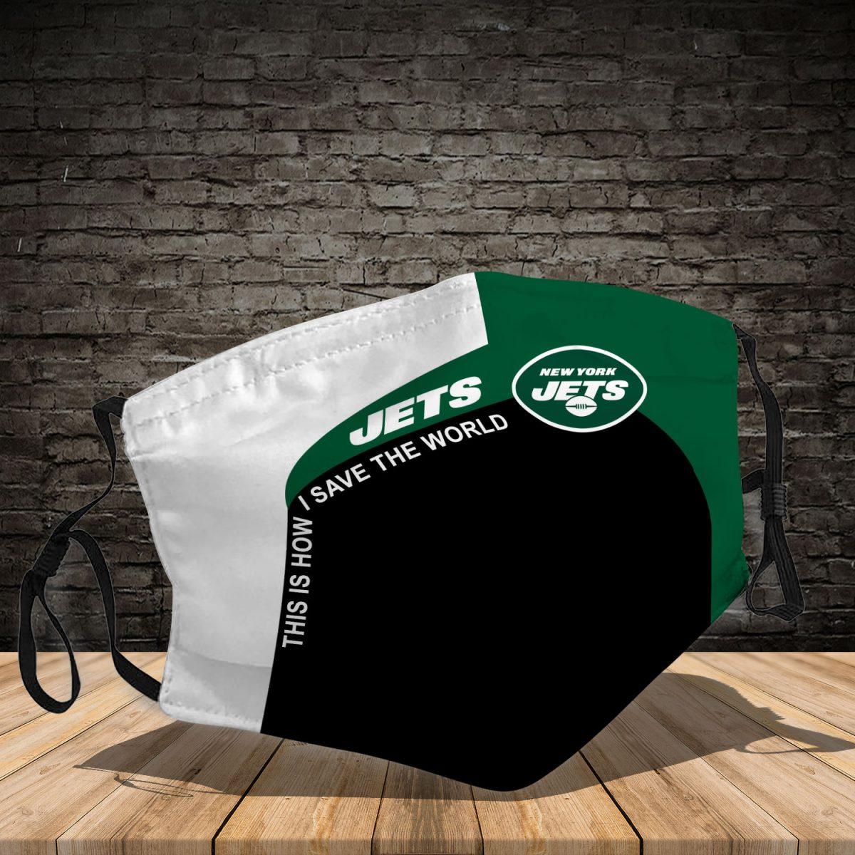 New York Jets 3d face mask