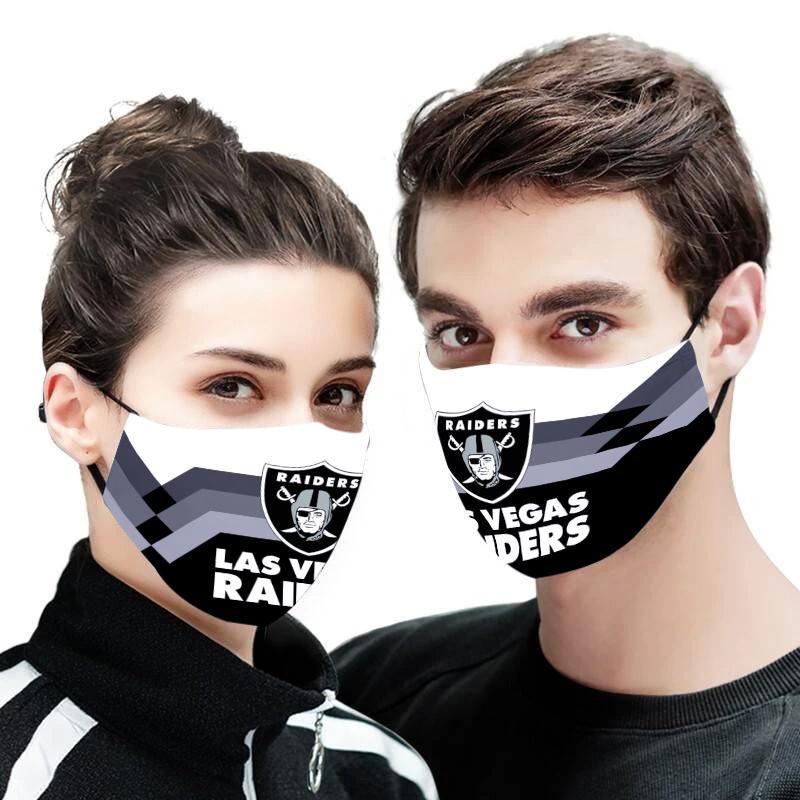 Oakland raiders face mask