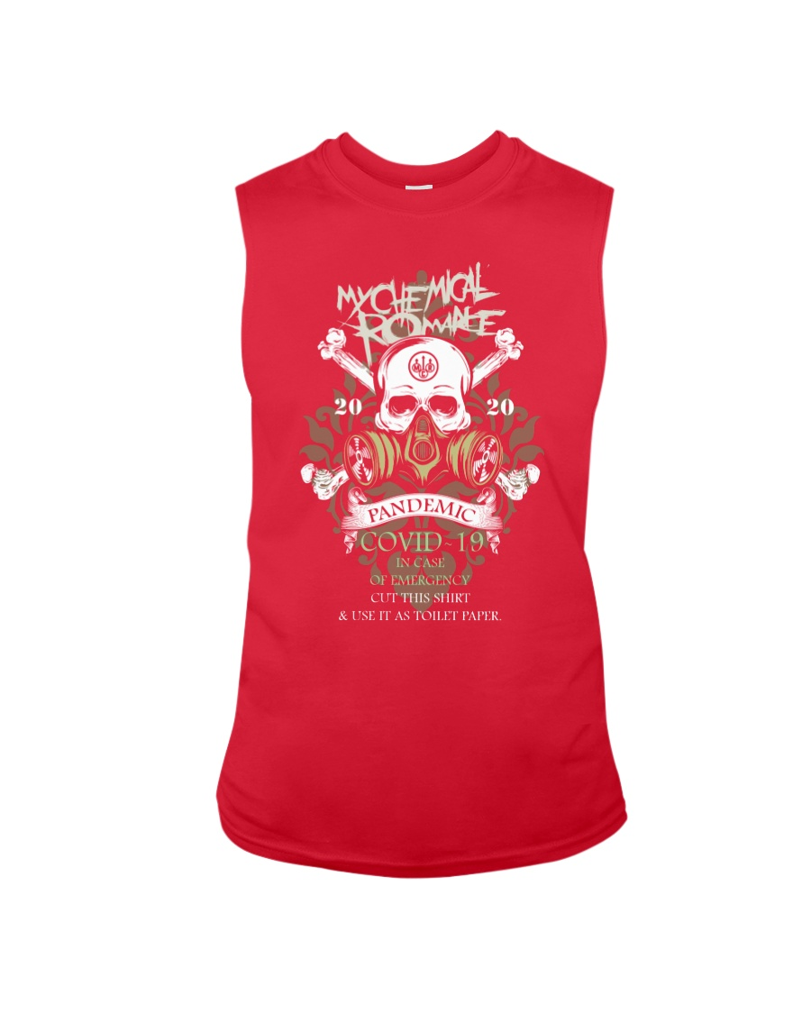 Pandemic in case of emergency cut this shirt and use it as toilet tank top