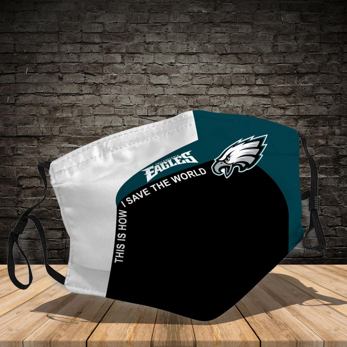 Philadelphia Eagles 3d face mask