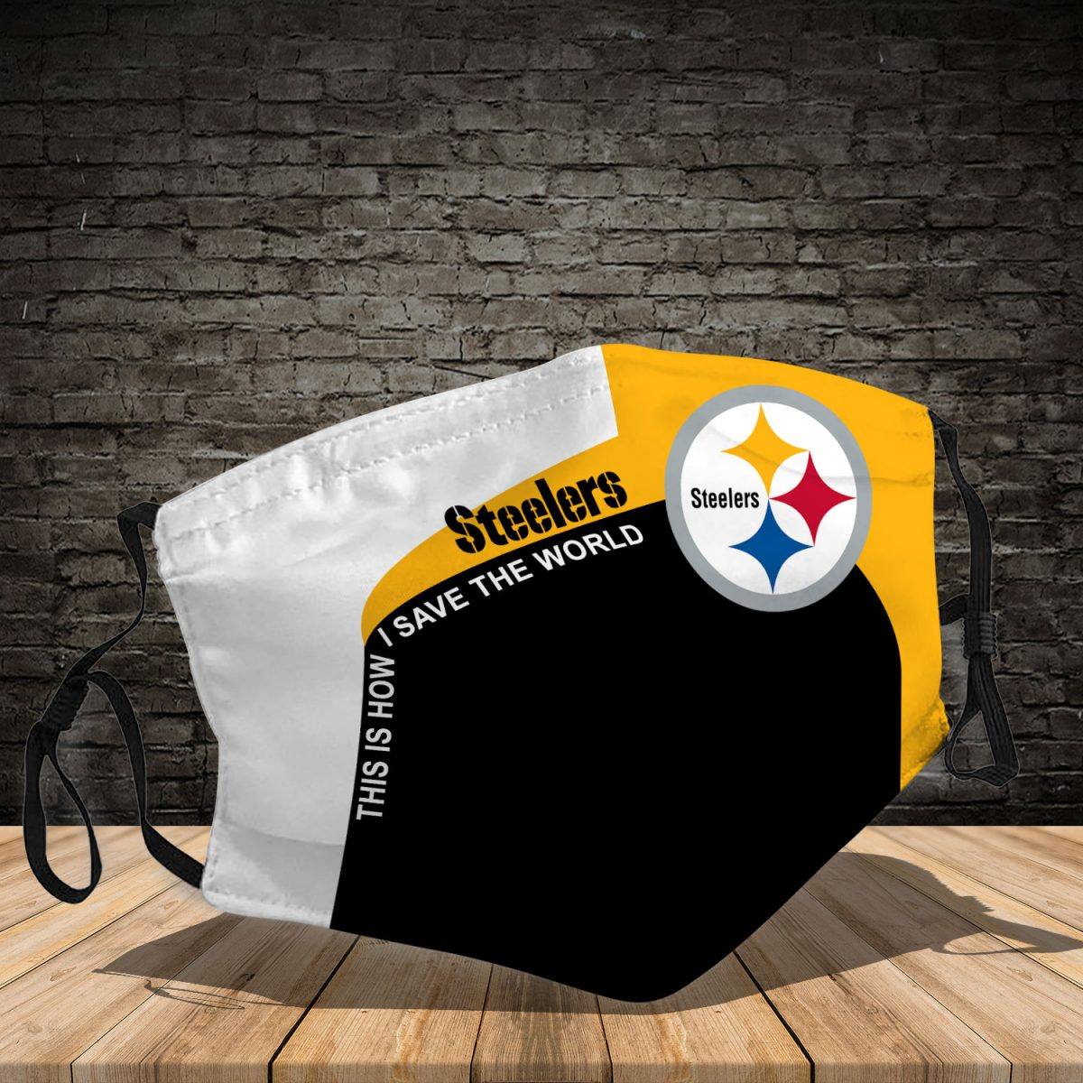 Pittsburgh Steelers 3d face mask