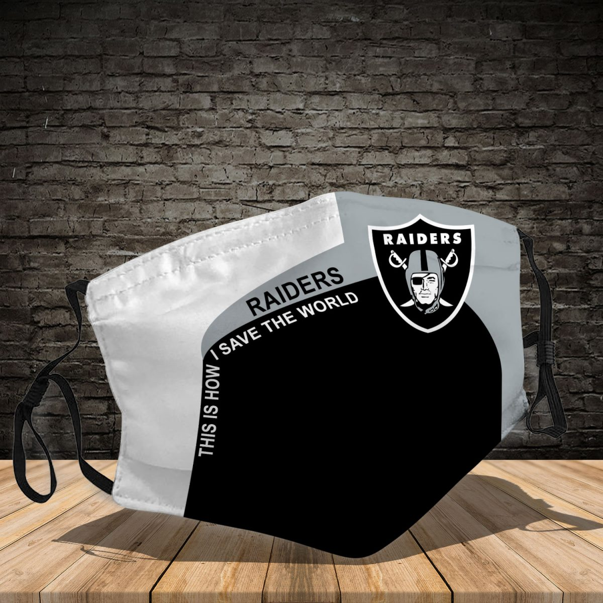 Raiders 3d face mask