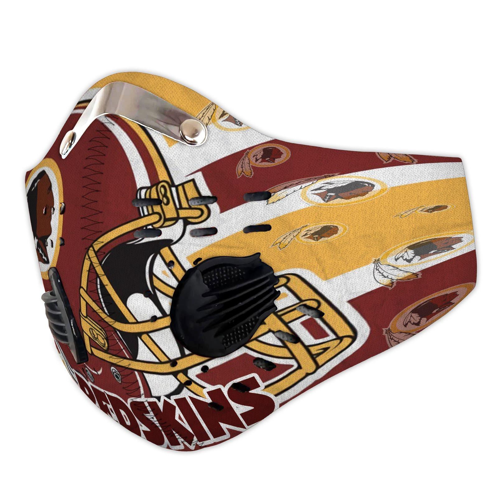 Redskins filter face mask
