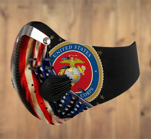 United State Marine Corps filter face mask - LIMITED EDITION