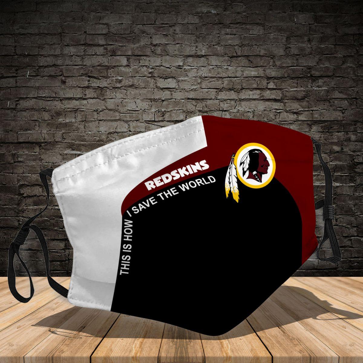 Washington Redskins 3d face mask