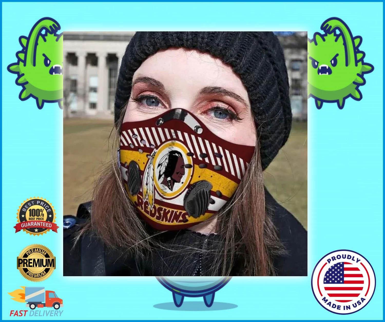 Washington Redskins filter face mask - LIMITED EDITION
