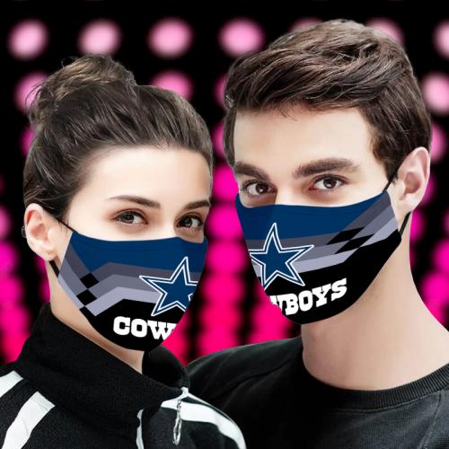 Dallas CowBoys cloth fabric face mask
