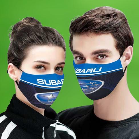 Subaru face mask