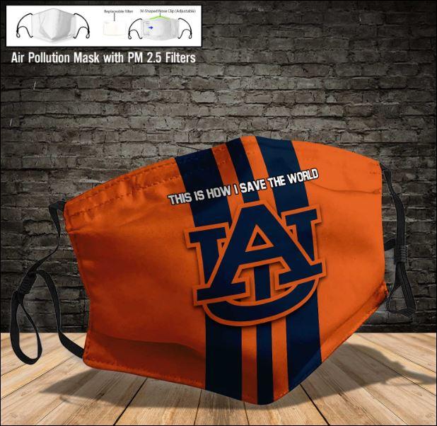 Auburn Tigers face mask
