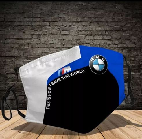 BMW this how i save the world face mask