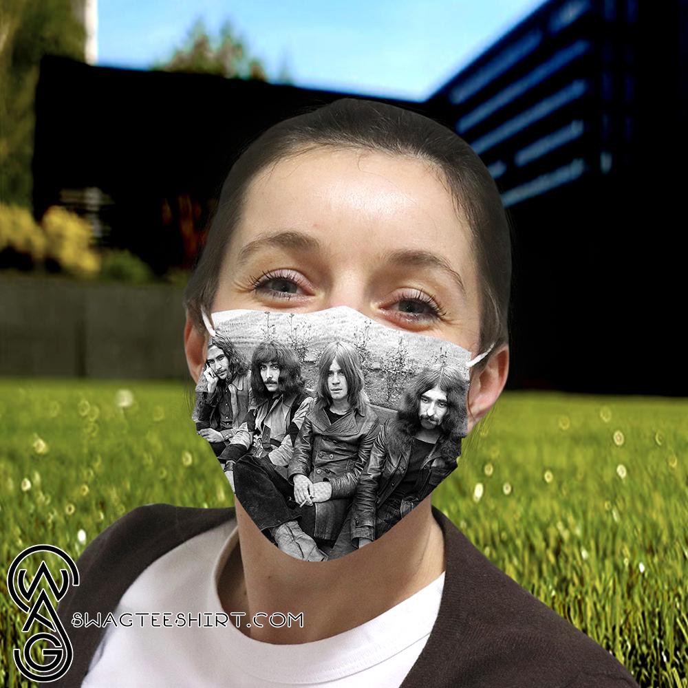 Black Sabbath Rock Band Full Printing Face Mask