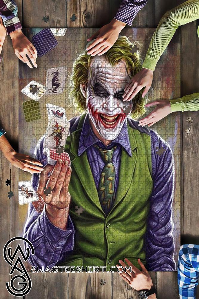 DC comics the joker jigsaw puzzle - maria