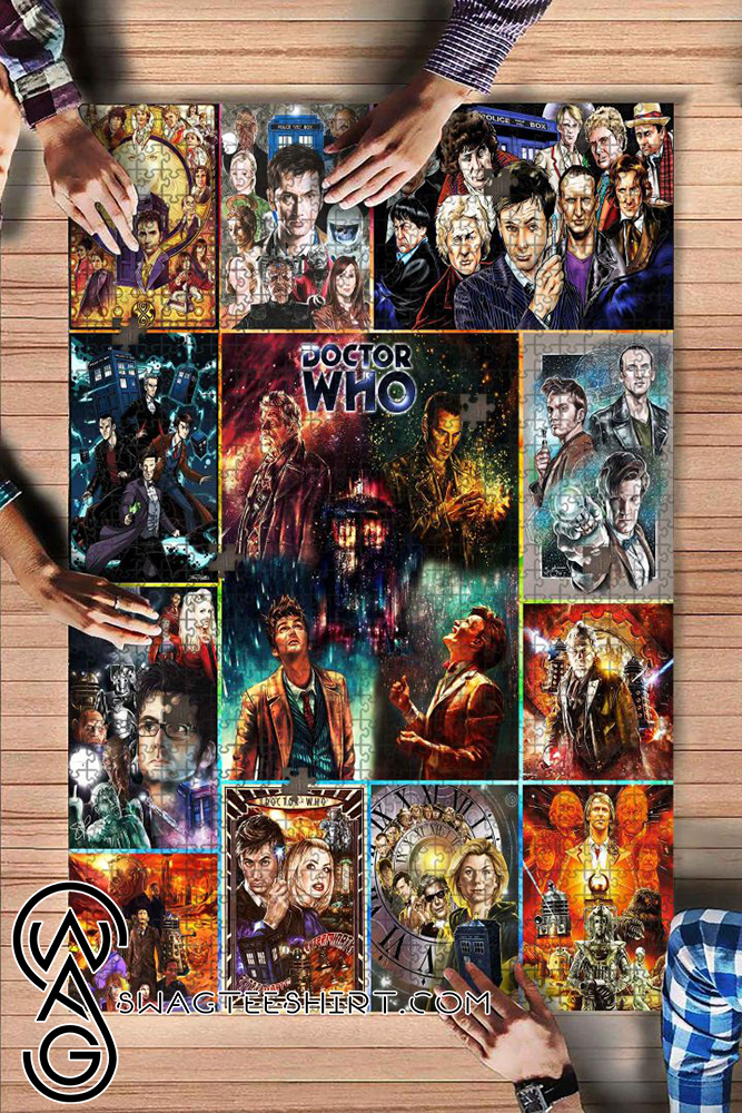 Doctor who tv series jigsaw puzzle - maria