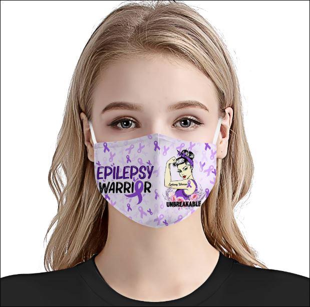 Epilepsy Awareness face mask