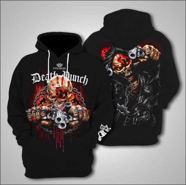 Five Finger Death Punch 3D hoodie
