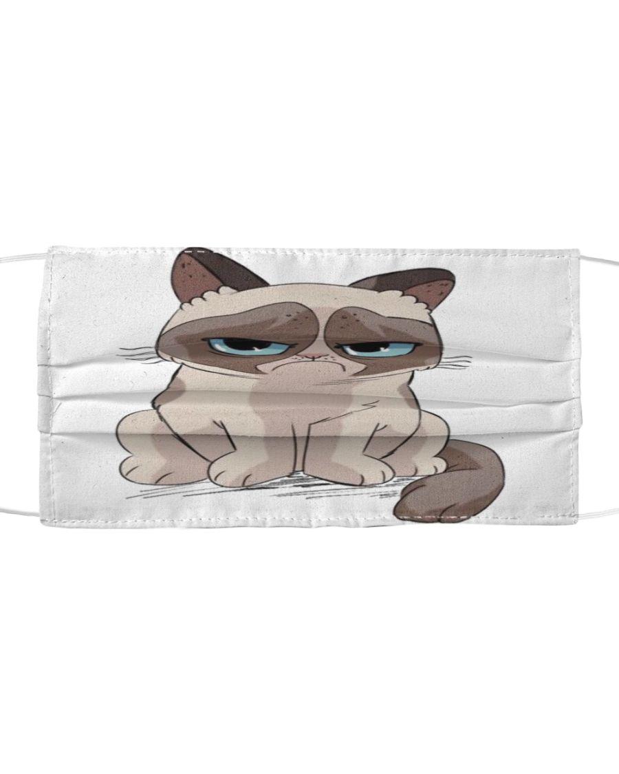 Grumpy Cat Cloth Face Mask