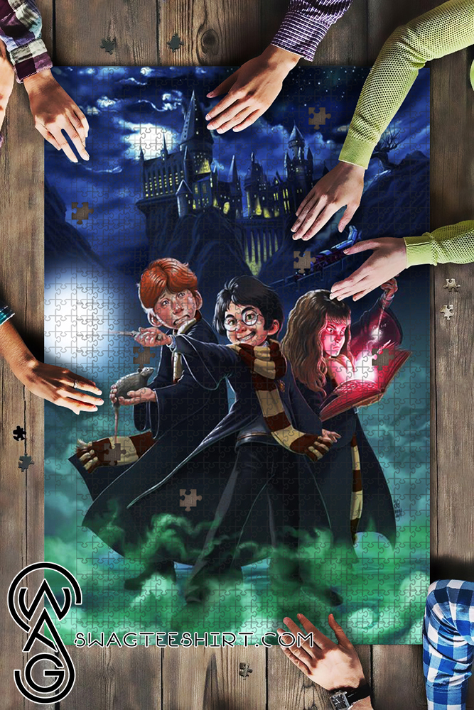 Harry potter characters jigsaw puzzle - maria