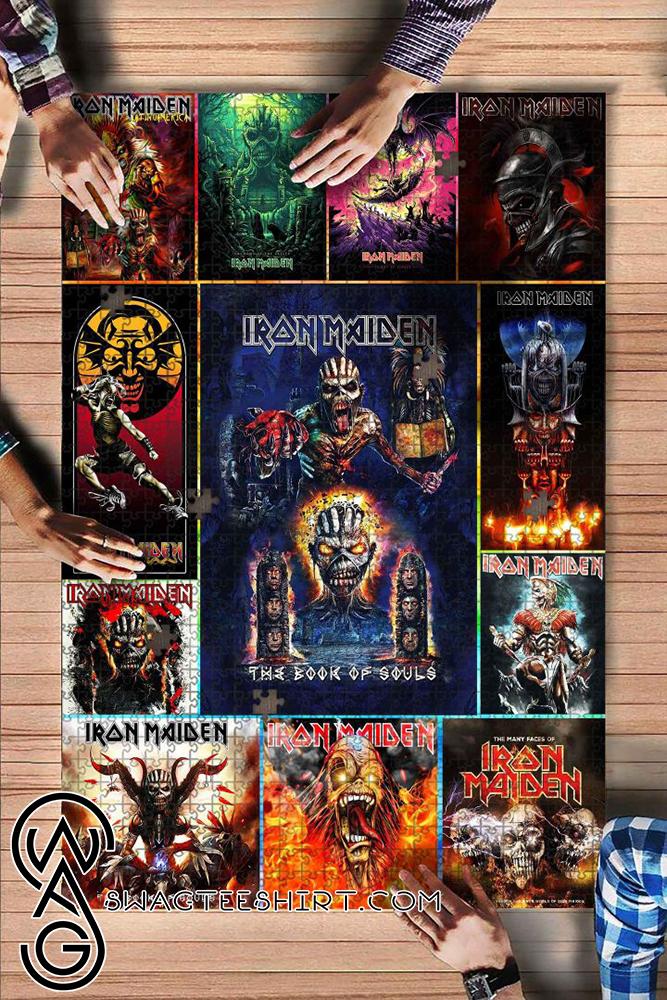 Iron maiden rock band jigsaw puzzle - maria